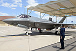 Royal Australian Air Force F-35 at Luke AFB 14 May 2015.JPG