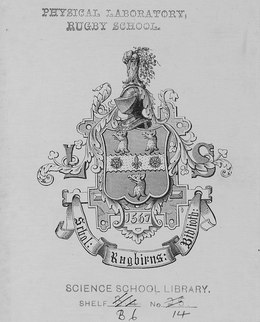 5172cd1d356 Early history[edit]. Ex libris from Rugby School.