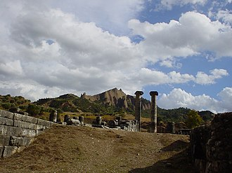 Classical Anatolia - The archaeological site of Sardis, today known as Sart in Turkey