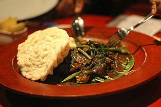 East Java - Rujak Cingur, traditional dish from East Java
