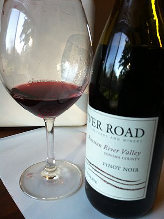 Russian River Valley AVA - A Pinot noir from the Russian River Valley AVA.