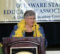 Ruth Ann Minner speaking.JPG
