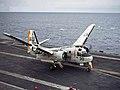 S-2E landing on USS Yorktown 1969.jpg