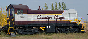 Montreal Locomotive Works - S3 660hp Diesel-Electric Locomotive, built 1957 for the Canadian Pacific Railway to designs by Alco-GE