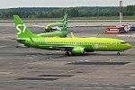 S7 Airlines, VP-BLD, Boeing 737-86J (41227431925).jpg