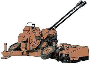 Rheinmetall Air Defence - Oerlikon 35 mm twin cannon