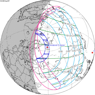 Solar eclipse of April 20, 2061 total solar eclipse