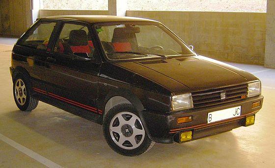Seat Ibiza Mk1 Makyaj öncesi