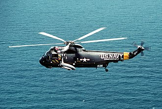 United States Seventh Fleet - Image: SH 3G of COM US 7th Fleet in flight 1990