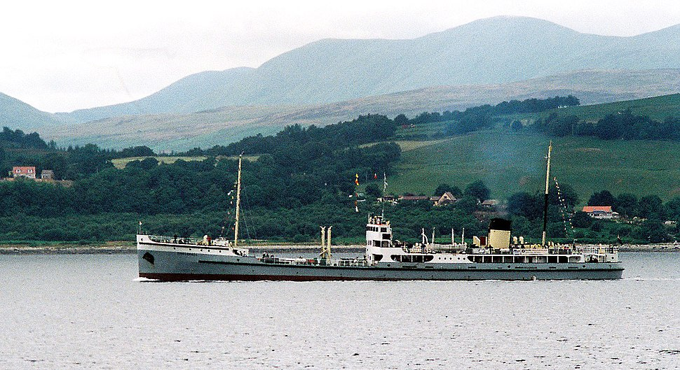 SS Shieldhall in Clyde 2005