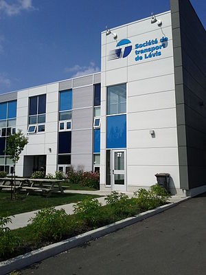 Société de transport de Lévis - Image: STLévis Centre d'opérations