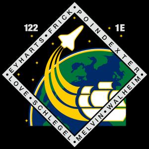 Rex J. Walheim - Image: STS 122 patch