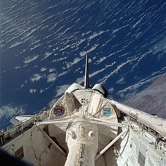 STS-47 - Image: STS 47 payloadbay
