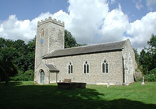 Thurning, Norfolk Village in Norfolk, England