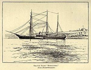 Svyataya Anna - Image: S S Yacht Blencathra