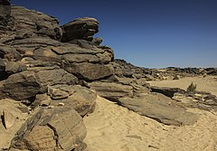 Rock art in wadi Jaddi