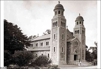 Sacred Heart College (Adelaide) - College chapel shortly after its completion, 1924