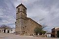 Saelices, iglesia San Pedro Apóstol, vista suroeste.jpg