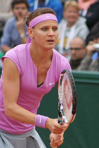Lucie Šafářová - Šafářová at the 2015 French Open