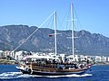 Sailing Ship Near Kyrenia - panoramio.jpg
