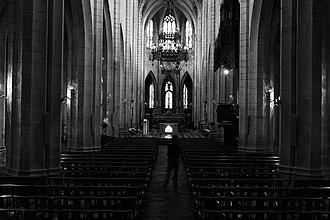 Saint-Flour, Cantal - Image: Saint Flour Cathedral