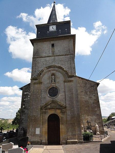 Saint-Laurent-sur-Othain (Meuse) église