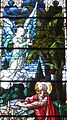 Saint Julie Billiart Catholic Church (Hamilton, Ohio) - stained glass, Agony in the Garden, detail.jpg