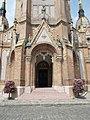Saint Ladislaus Church, open vestibule, 2016 Budapest.jpg