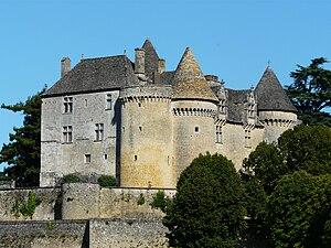 Château de Fénelon - Image: Sainte Mondane château Fénelon (2)