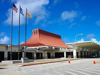 Saipan International Airport - Passenger terminal