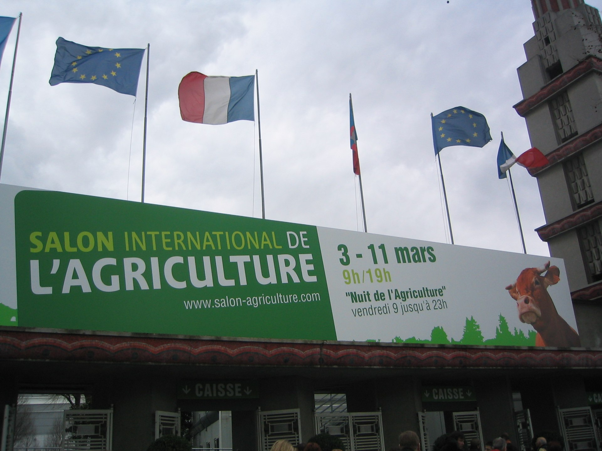 Paris international agricultural show wikipedia for Agriculture salon