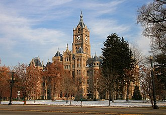 Salt Lake City and County Building - The Salt Lake City and County Building, seat of city government since 1894