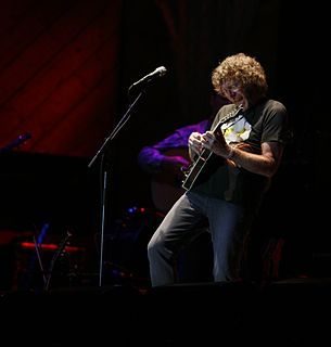 Sam Bush American mandolinist