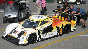 Daytona Prototype - A Riley MkXI run by Samax Motorsport.