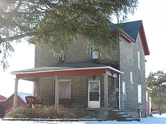 National Register of Historic Places listings in DeKalb County, Indiana - Image: Samuel Bevier House