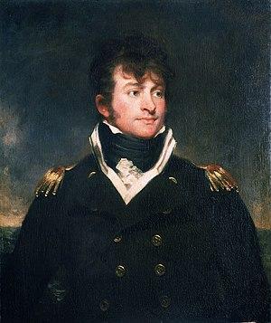 Samuel Hood Linzee - Portrait of Samuel Hood Linzee, 1802 by Sir Martin Archer Shee