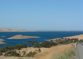 Merced County, California - Image: San Luis Reservoir 1