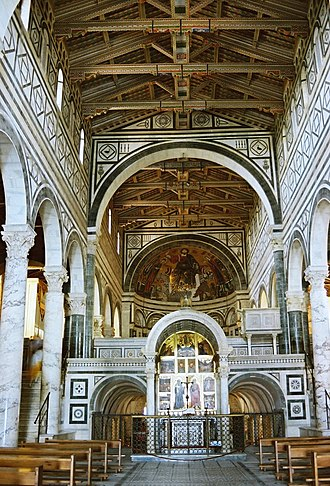 San Miniato al Monte - Interior of the church.