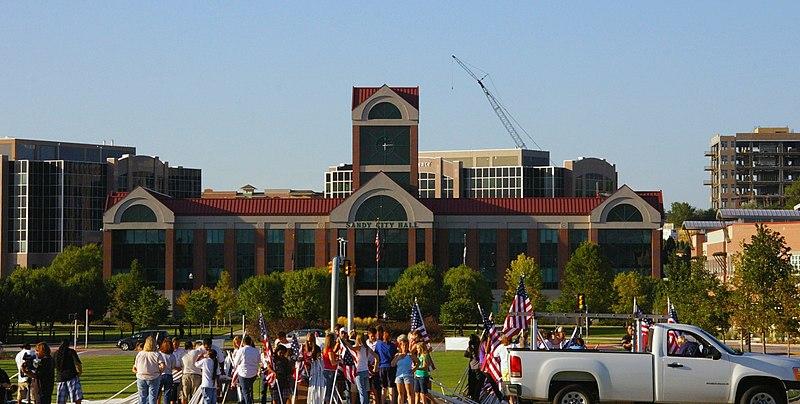 File:Sandy, Utah city hall.jpg