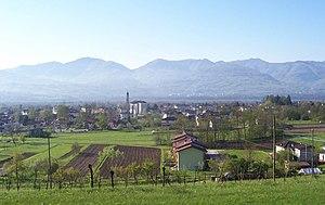 Santa Giustina - Image: Santa Giustina Panorama
