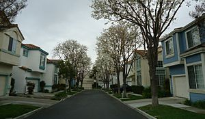 Santa Clara, California - A housing development