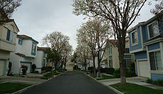 Santa Clara, California - A housing development