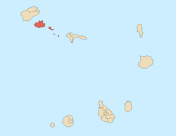 Location of São Vicente