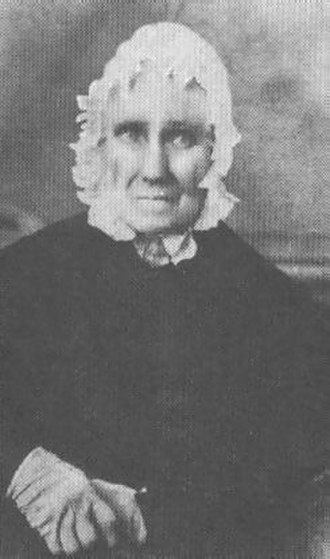 Sarah Bush Lincoln - Image: Sarah Bush Johnston Lincoln