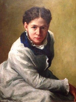 Jane E. Bartlett - Portrait of Sarah Cowell Le Moyne by Jane E. Bartlett, 1877