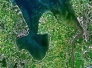 Satellitenaufnahme der Region