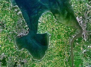 Jade Bight - Jadebusen and river Weser estuary