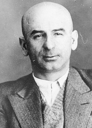 Saul Amsterdam - Saul Amsterdam after being arrested by the NKVD in 1937.