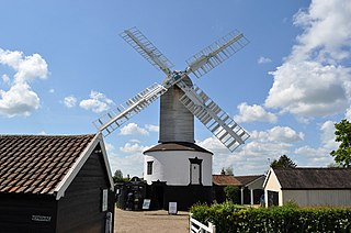 Saxtead Green Windmill
