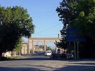 Sayram (city) - Main Gate of Sayram